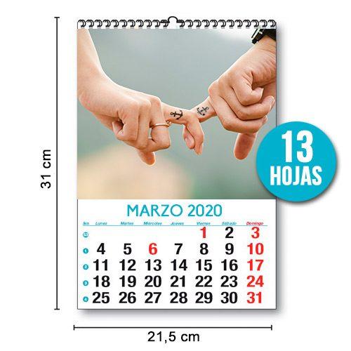 Foto Calendario Mensual 31X21,5 13Hojas