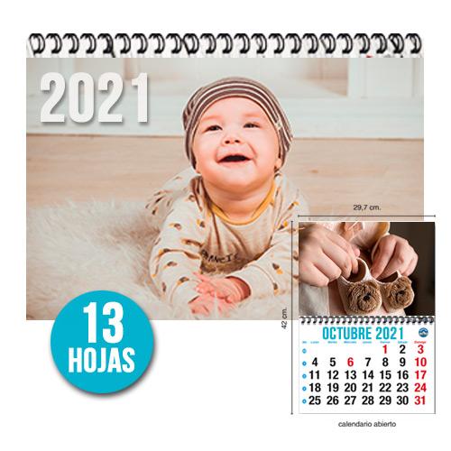 foto Calendario Revista Mensual 13 hojas