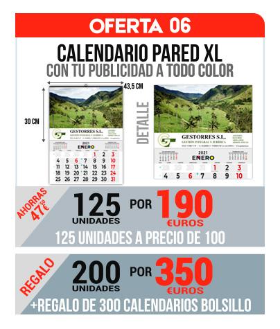 Oferta 06 Calendarios