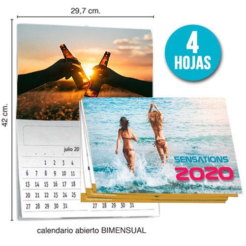 foto Calendario Revista Bimensual 4hojas