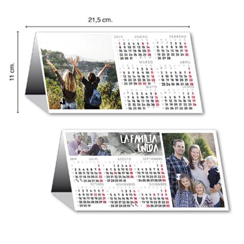 Calendario Semestral todo color