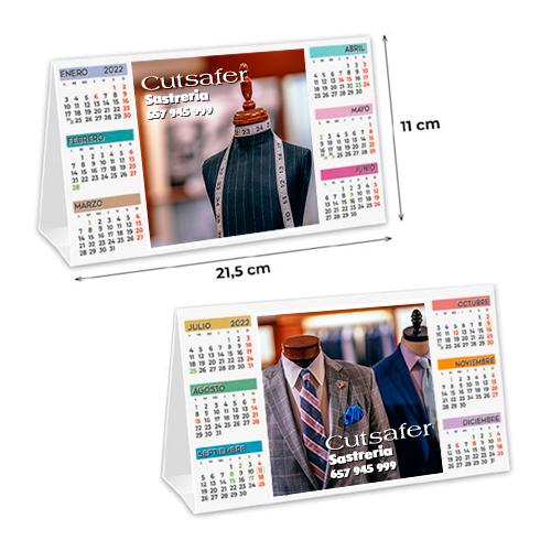 Calendario semestral barato