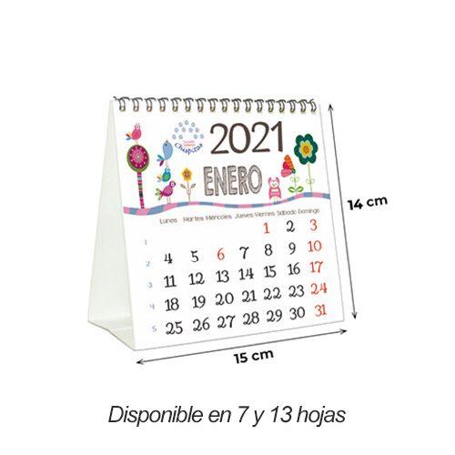calendario-sobremesa-personalizado-sin-carton-7-13-hojas-15x14