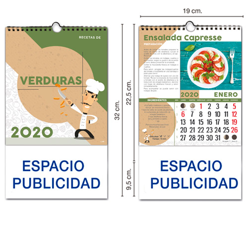 Calendarios Iman Cocinas Nevera
